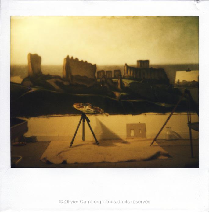 Polaroid Château Gaillard
